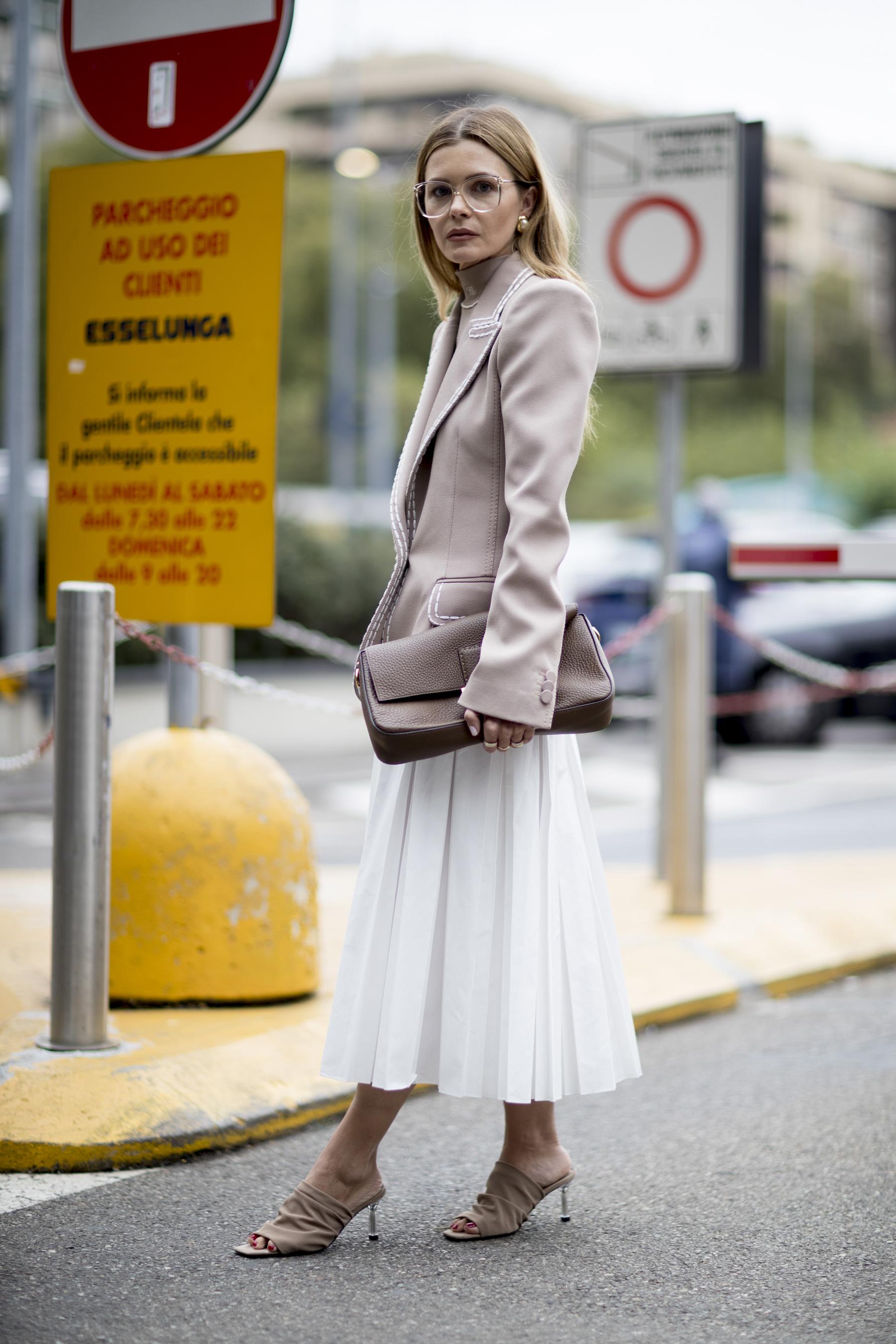 Milan Street Style Spring 2020 Day