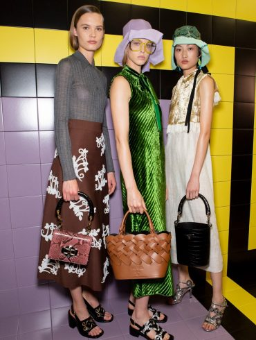 Prada Spring 2020 Fashion Show Backstage