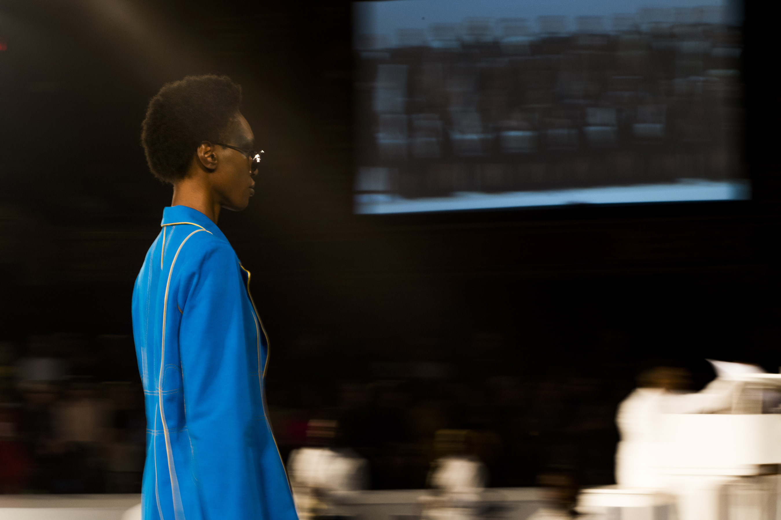 Pyer Moss Spring 2020 Fashion Show Atmosphere