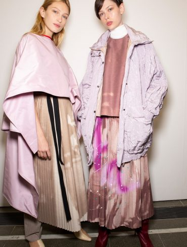 Roksanda Spring 2020 Fashion Show Backstage