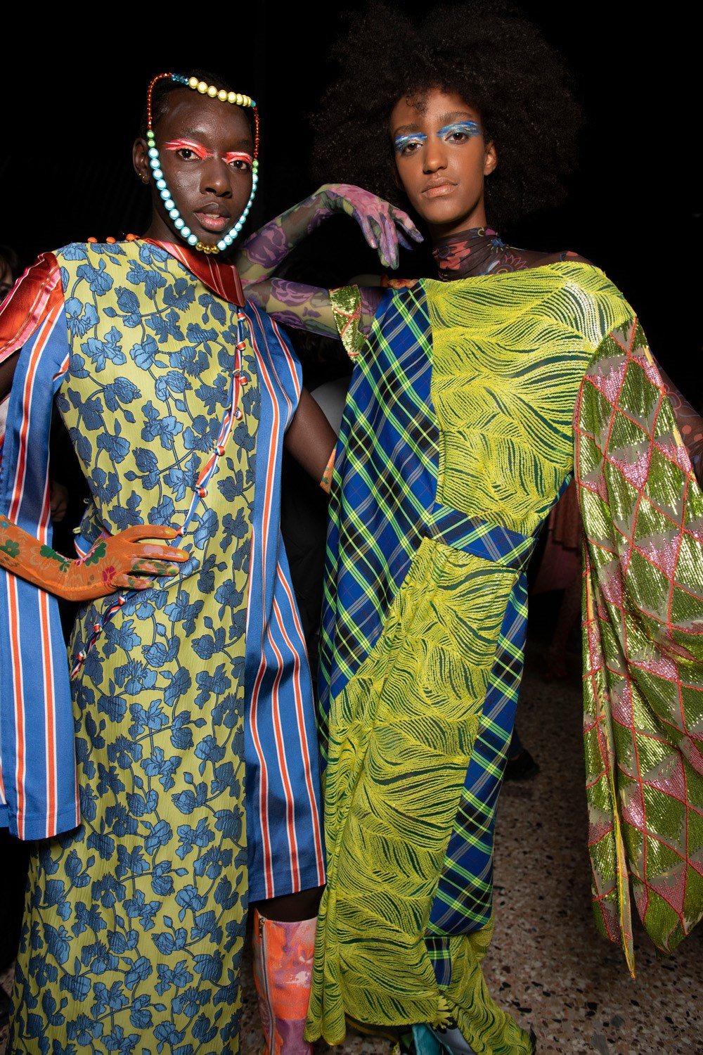 Shuting Qiu Spring 2020 Fashion Show Backstage