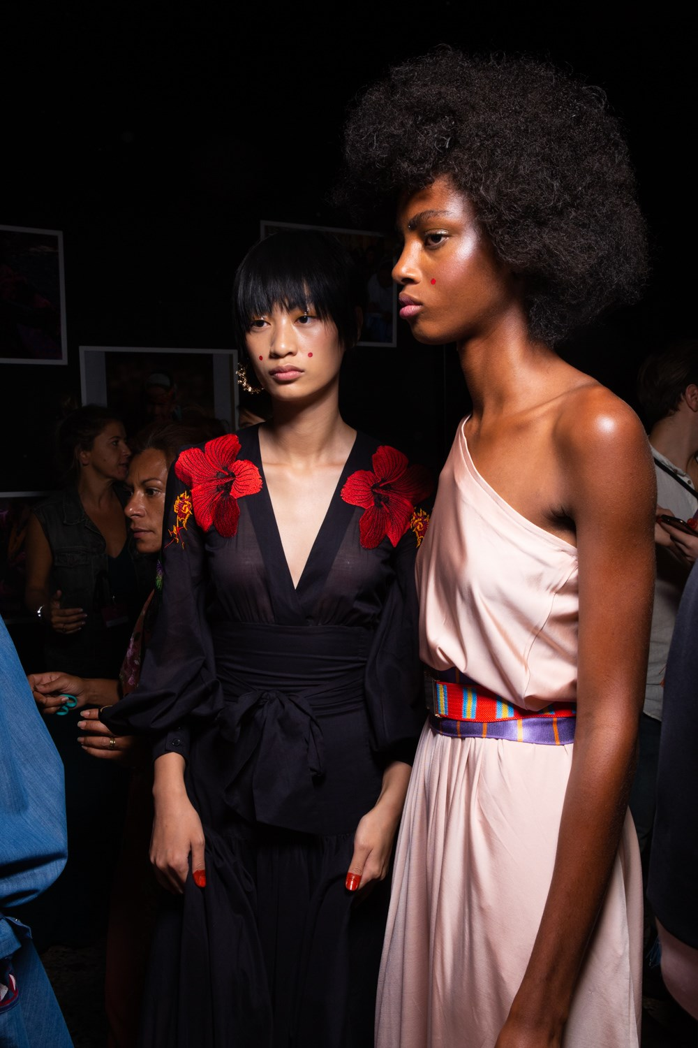 Stella Jean Spring 2020 Fashion Show Backstage
