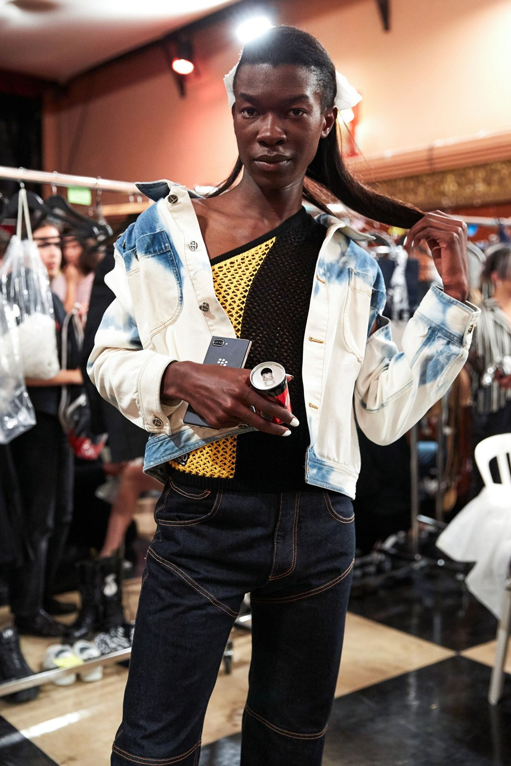 Telfar Spring 2020 Fashion Show Backstage