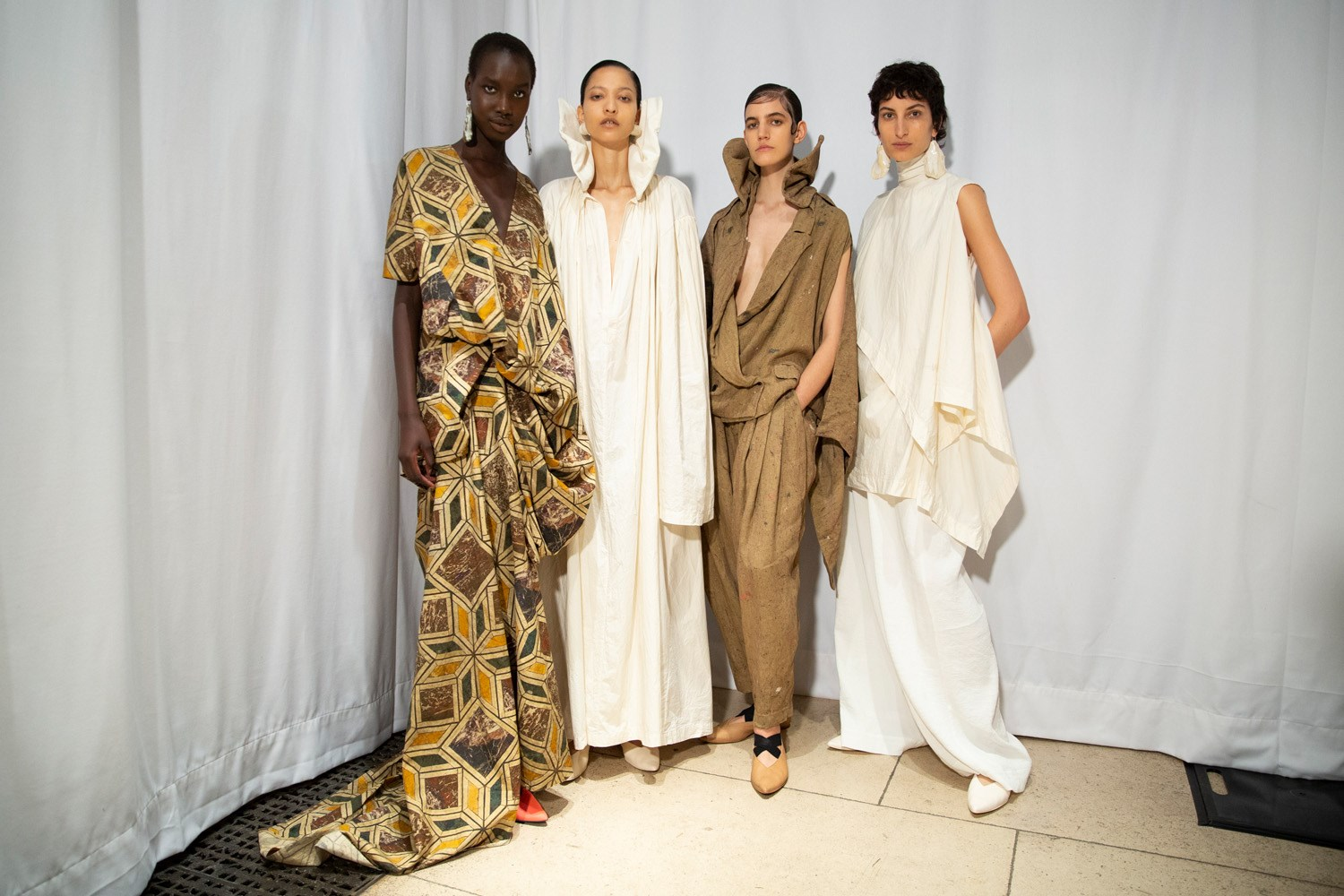 Uma Wang Spring 2020 Fashion Show Backstage
