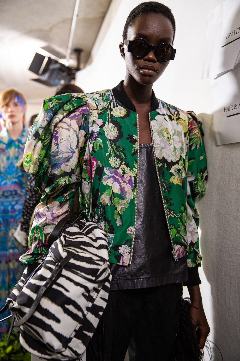 Dries Van Noten Spring 2020 Fashion Show Backstage