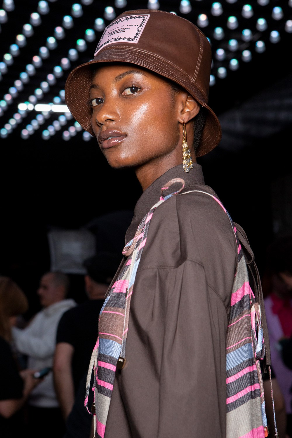 Victoria Tomas Spring 2020 Fashion Show Backstage