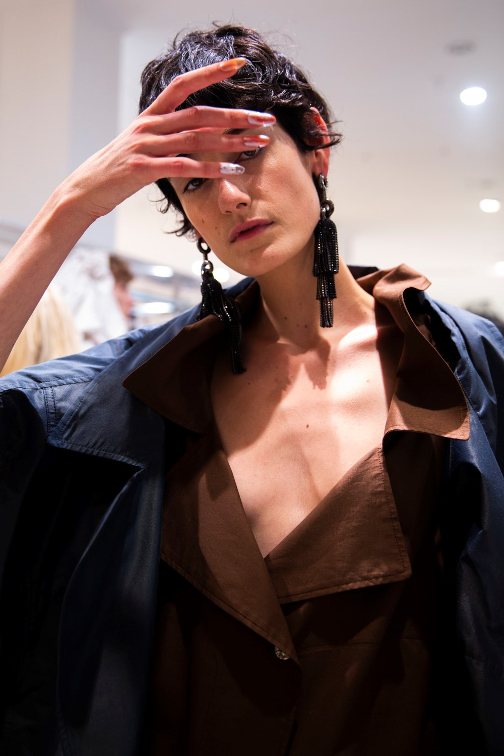 Andreas Kronthaler For Vivienne Westwood Spring 2020 Fashion Show Backstage