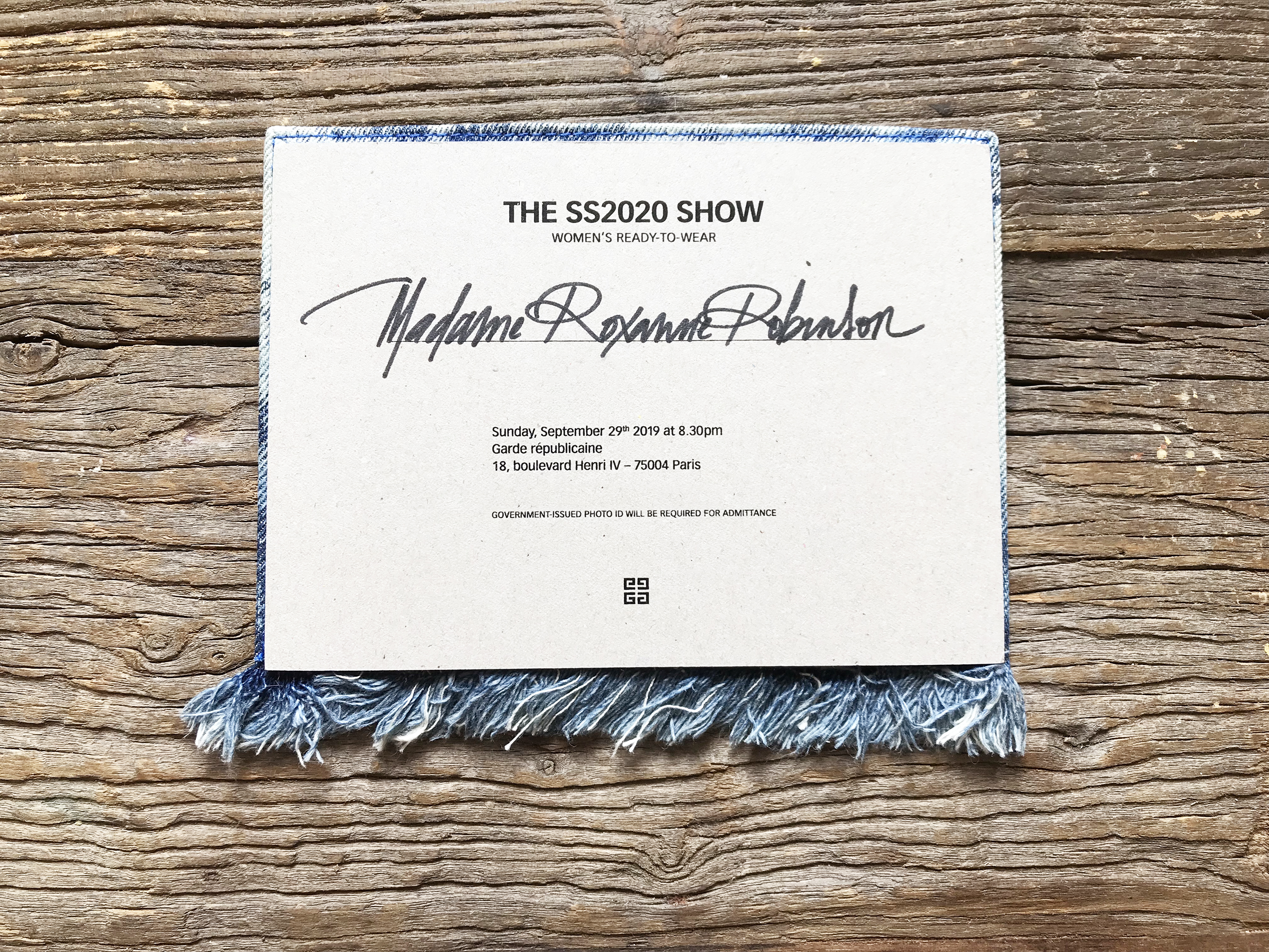 The Best of Spring 2020 RTW Show Invitations