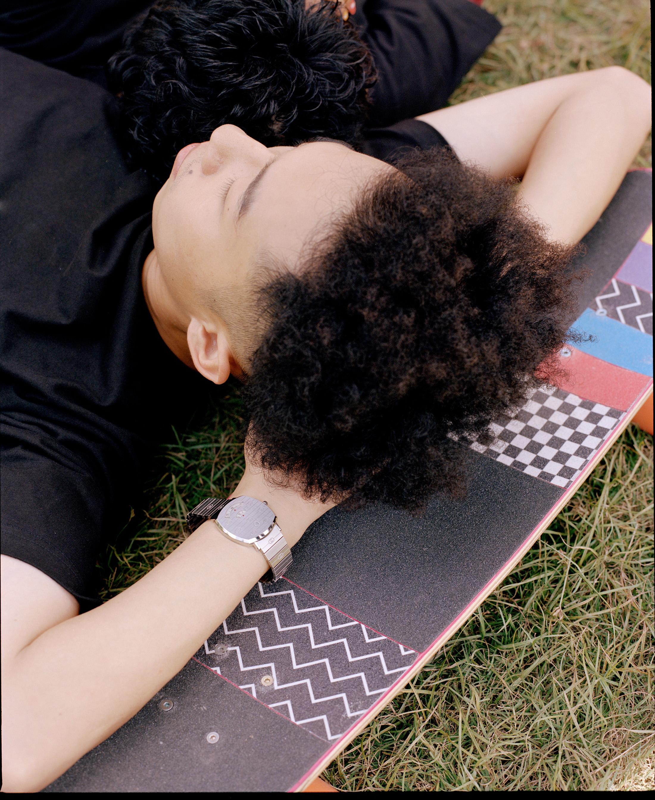 Gucci Grip Watch Skateboarder Fall 2019 Ad Campaign