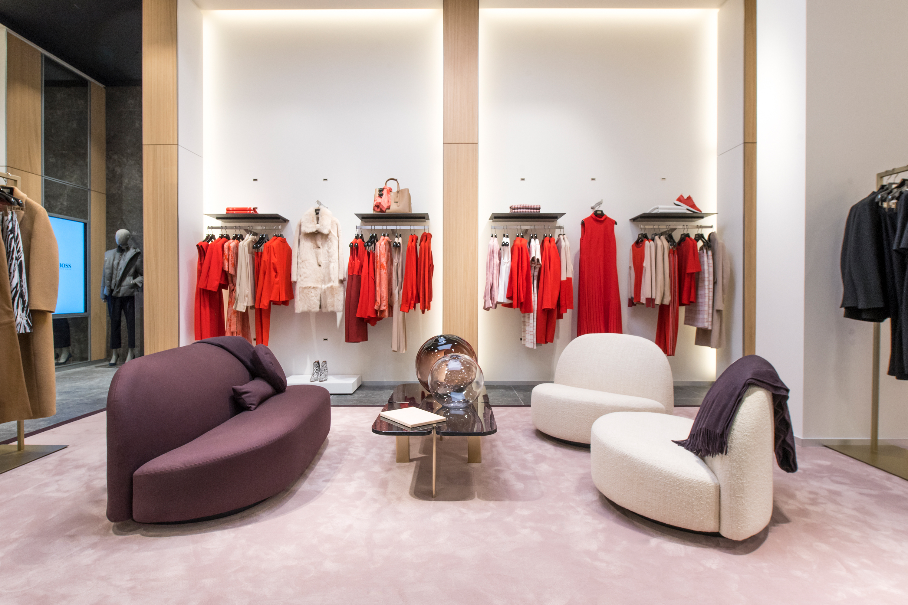 Boss Opens Flagship Store on the Champs-Elysees