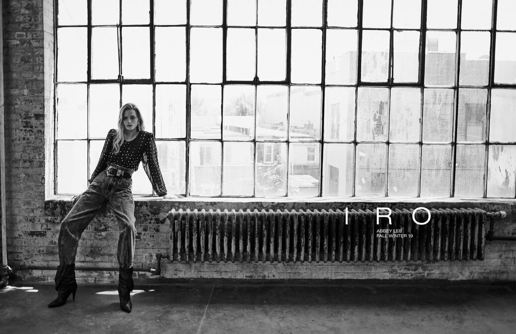 IRO Fall 2019 Ad Campaign with Abbey Lee Kershaw