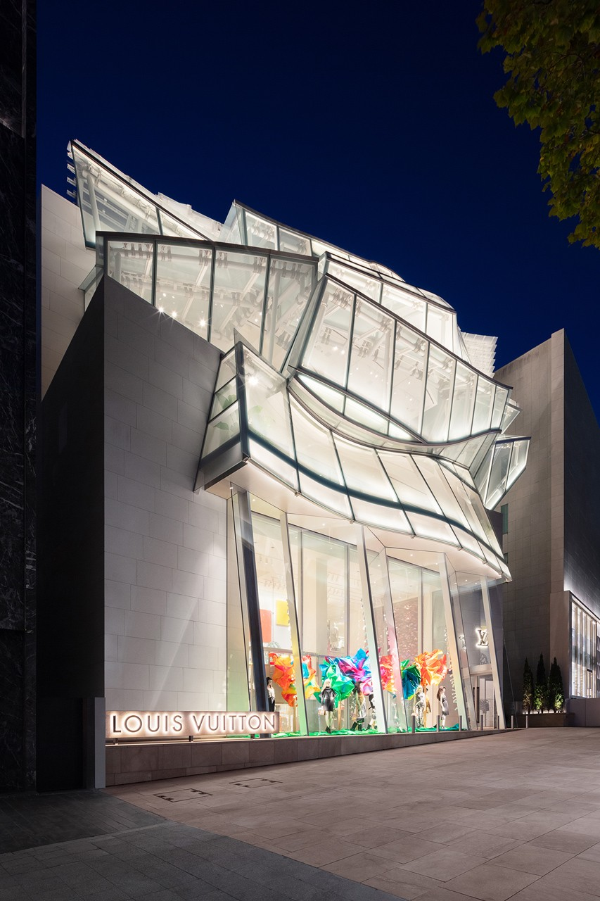 Louis Vuitton Opens Frank Gehry-Designed Seoul Boutique
