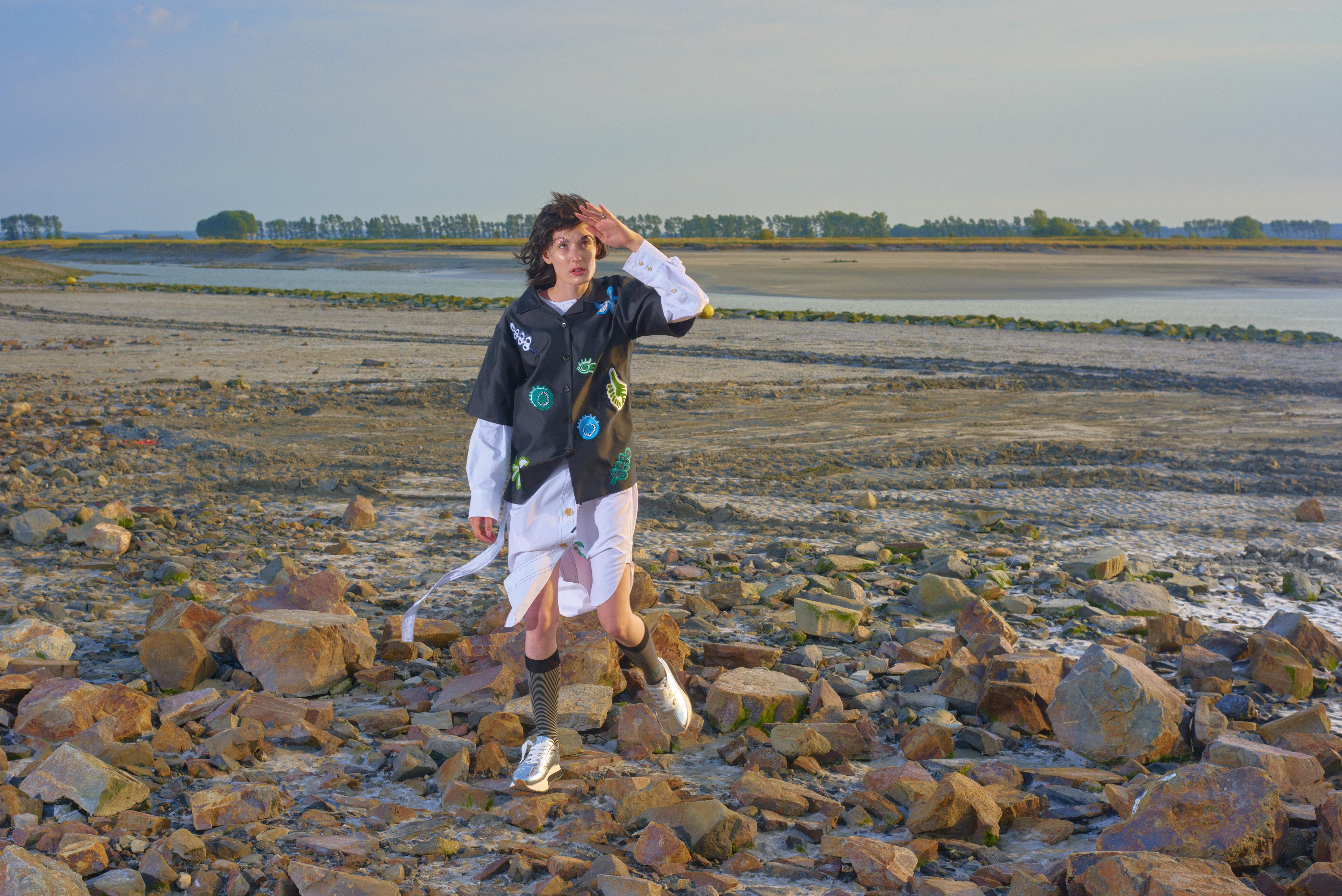 Marni Wandering in Stripes Holiday Campaign by Boris Camaca