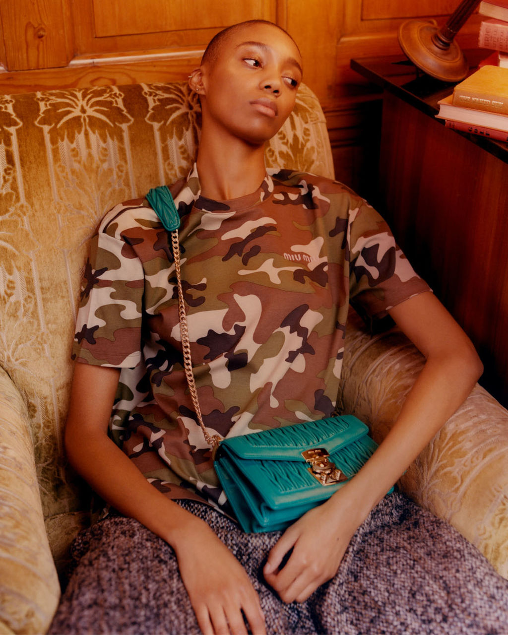Miu Miu Confidential Handbag Campaign by Jacobs + Talbourdet-Napoleone