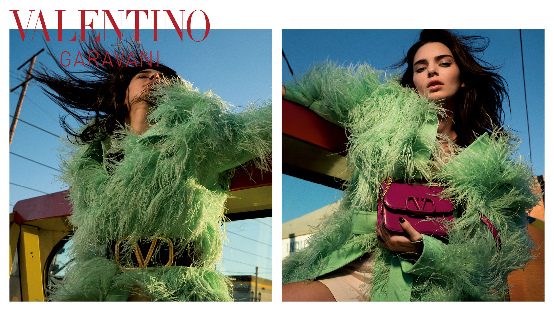 Valentino Garavani VSLING Bag Resort 2020 Fashion Ad Campaign
