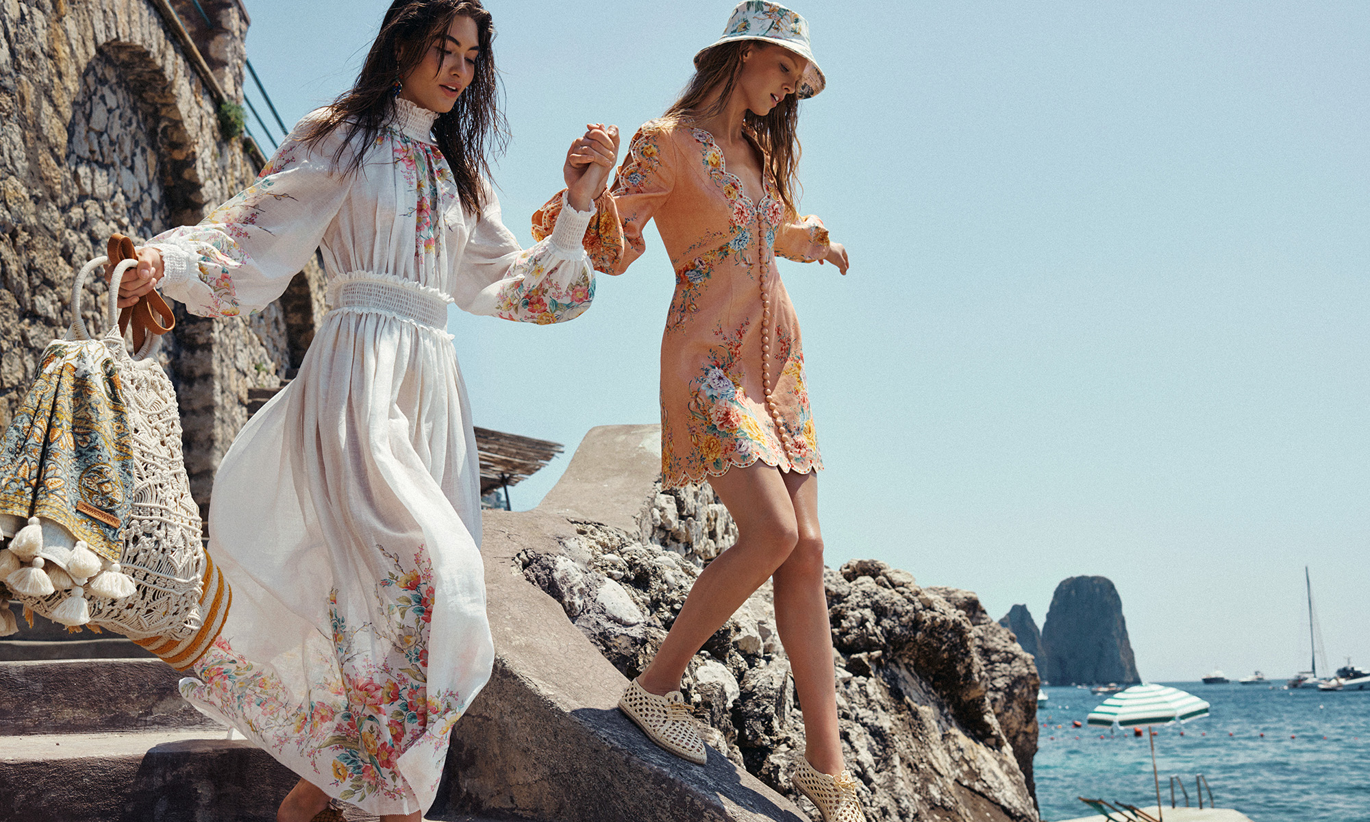 Zimmermann Resort 2020 Swim Ad Campaign by Smile Agency