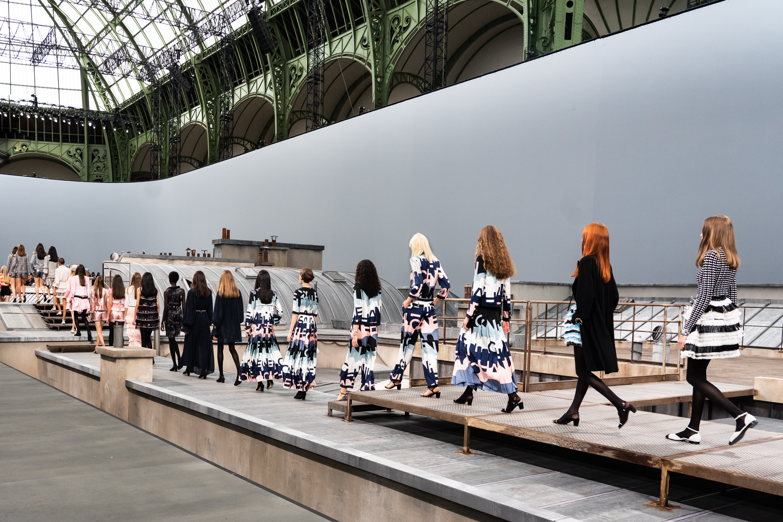 Chanel Spring 2020 Fashion Show Atmosphere
