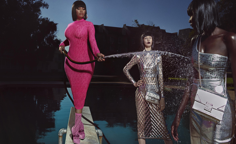 Fendi FF Series Campaign with Nicki Minaj by Steven Klein