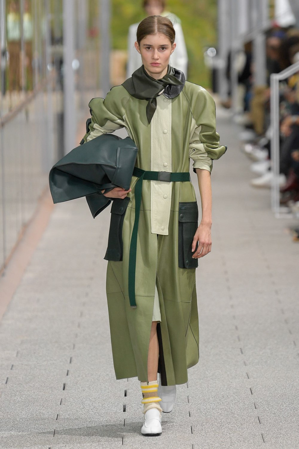 Akris, Lacoste Spring 2020 Fashion Show Reviews