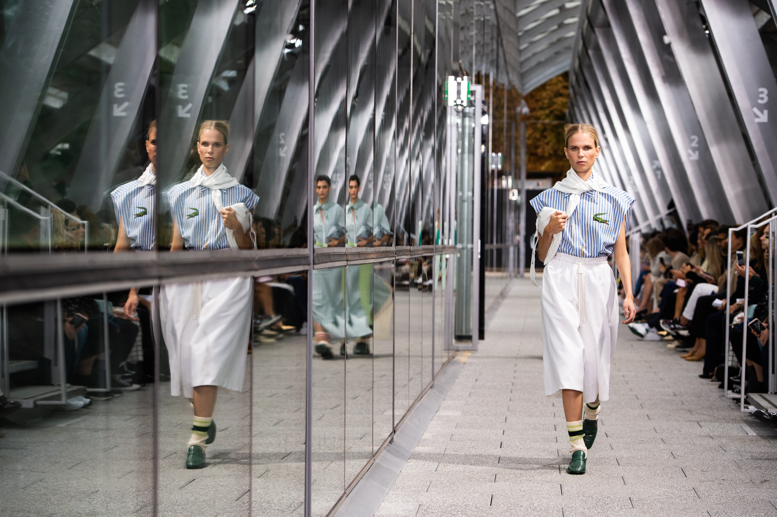 Lacoste Spring 2020 Fashion Show Atmosphere