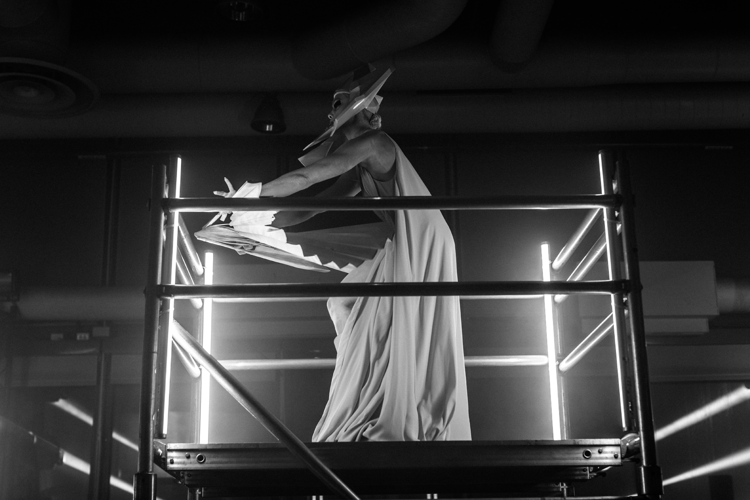 Rick Owens Creates A Special Performance at Center Pompidou