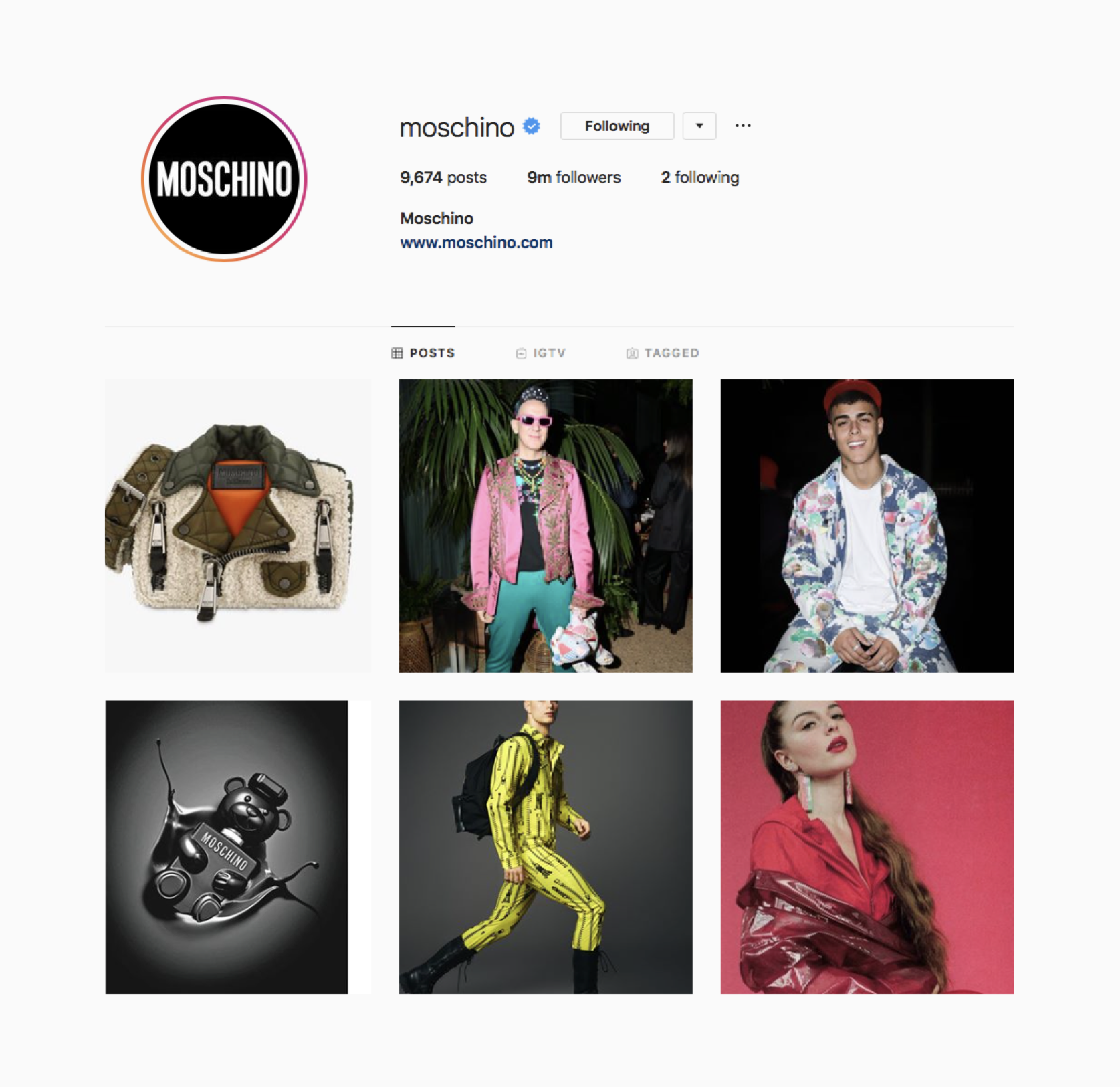 Best Fashion Design Houses Instagrams to Follow