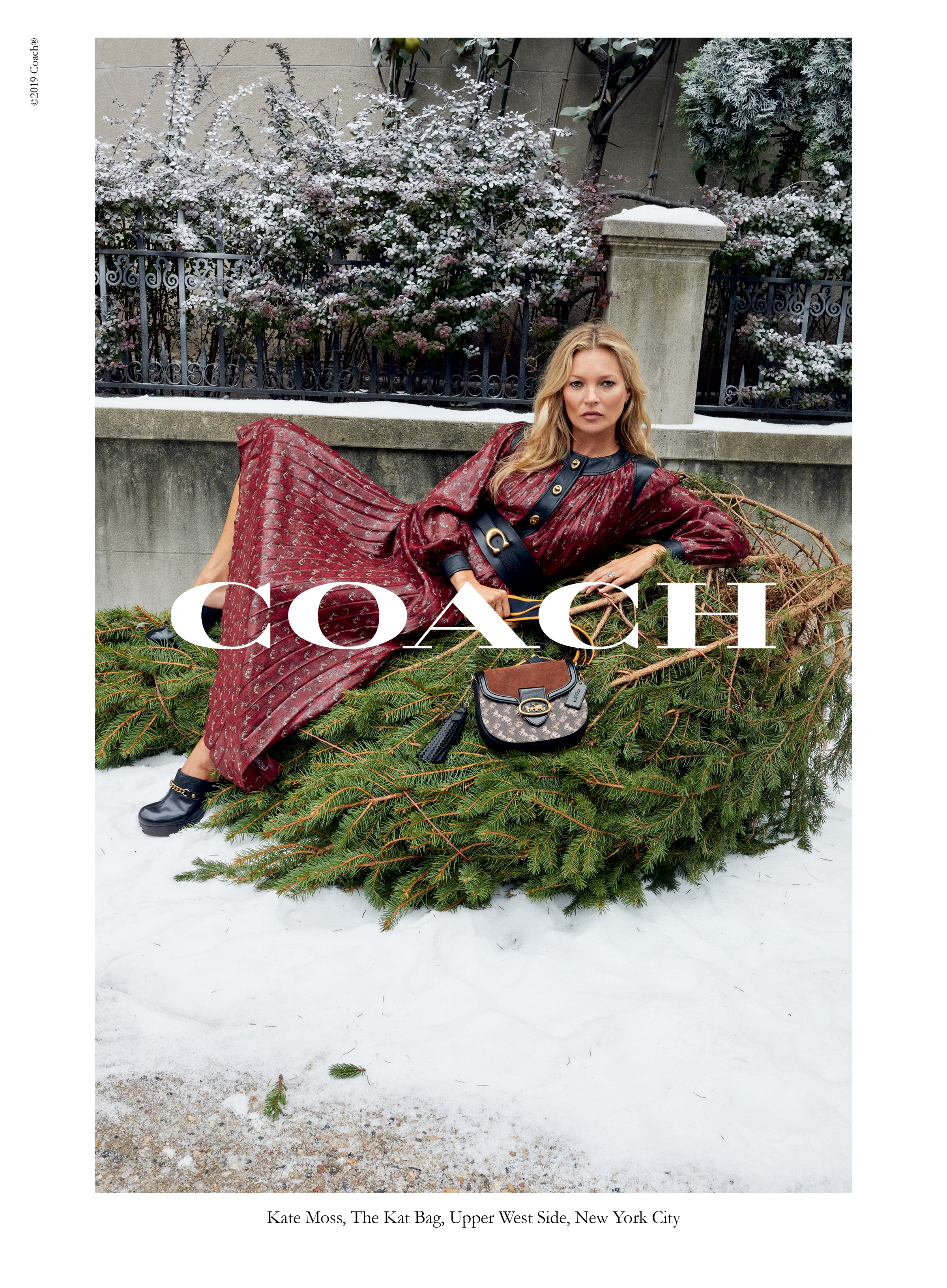 Coach Wonder For All Holiday Campaign by Juergen Teller with Kate Moss