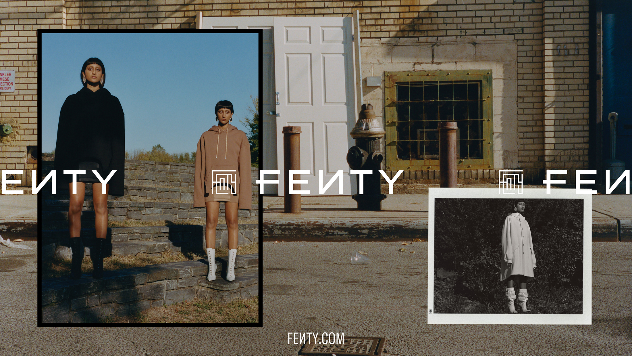 Fenty 'City Bloom' Holiday 2019 Ad Campaign