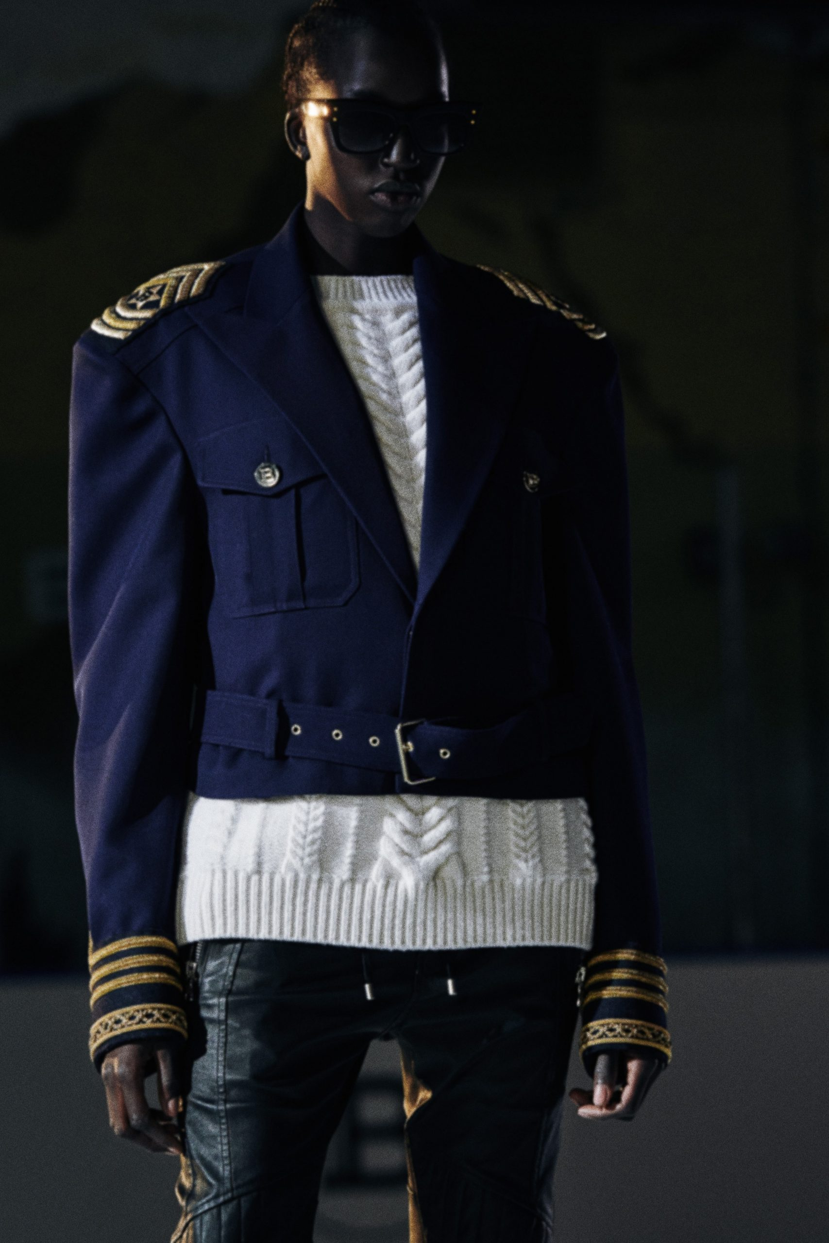 Balmain Pre-Fall 2020 Men's Fashion Collection Pictures
