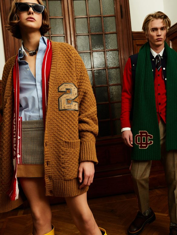 Dsquared2 Pre-Fall 2020 Fashion Collection Pictures