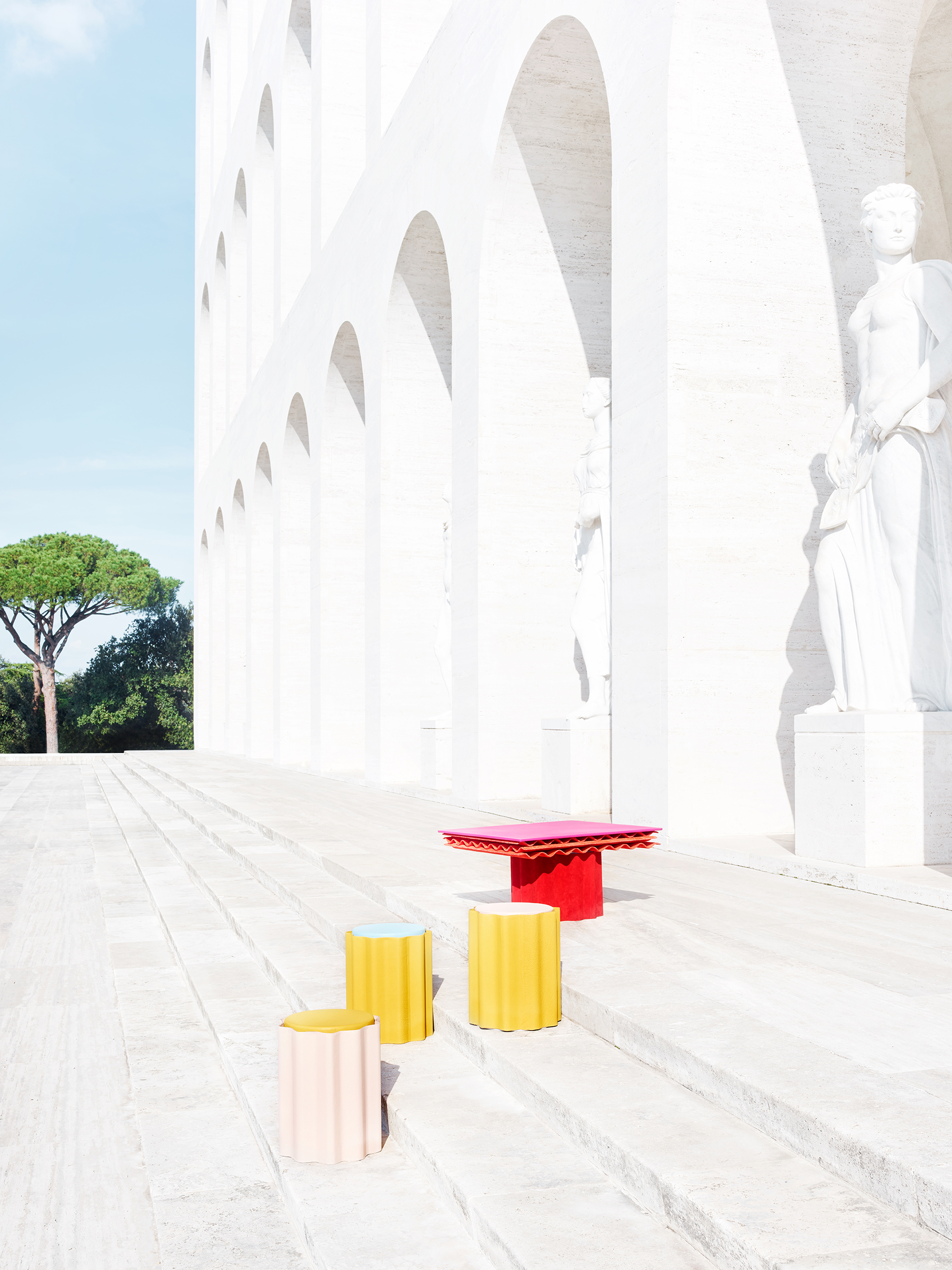 Fendi Debuts 'Roman Molds' by Kueng Caputo at Design Miami