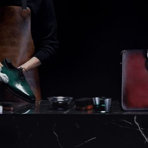 Berluti The Illusion Patina Holiday 2019 Ad Campaign