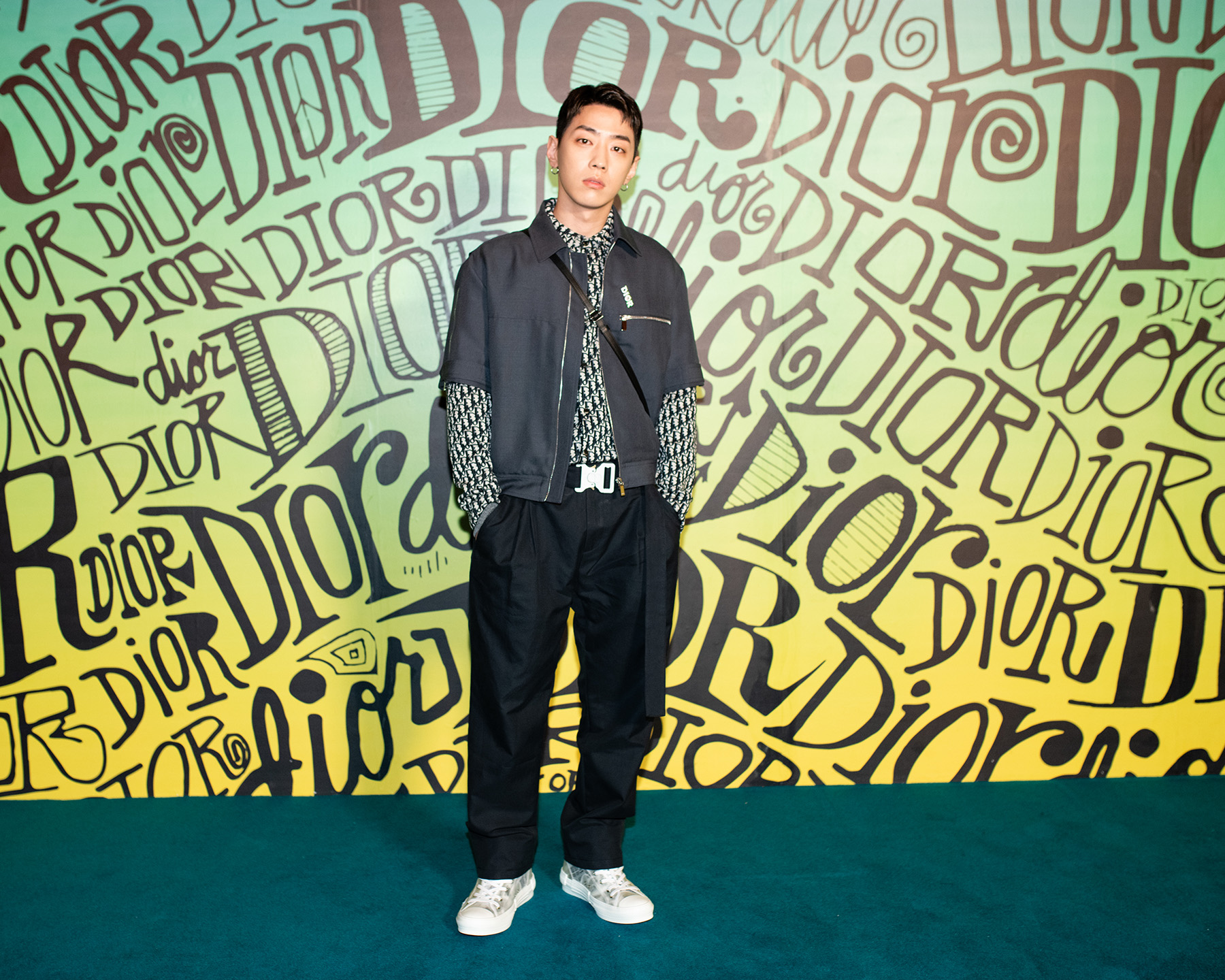 Dior Men's Fall 2020 Fashion Show Front Row and Celebrity Pictures