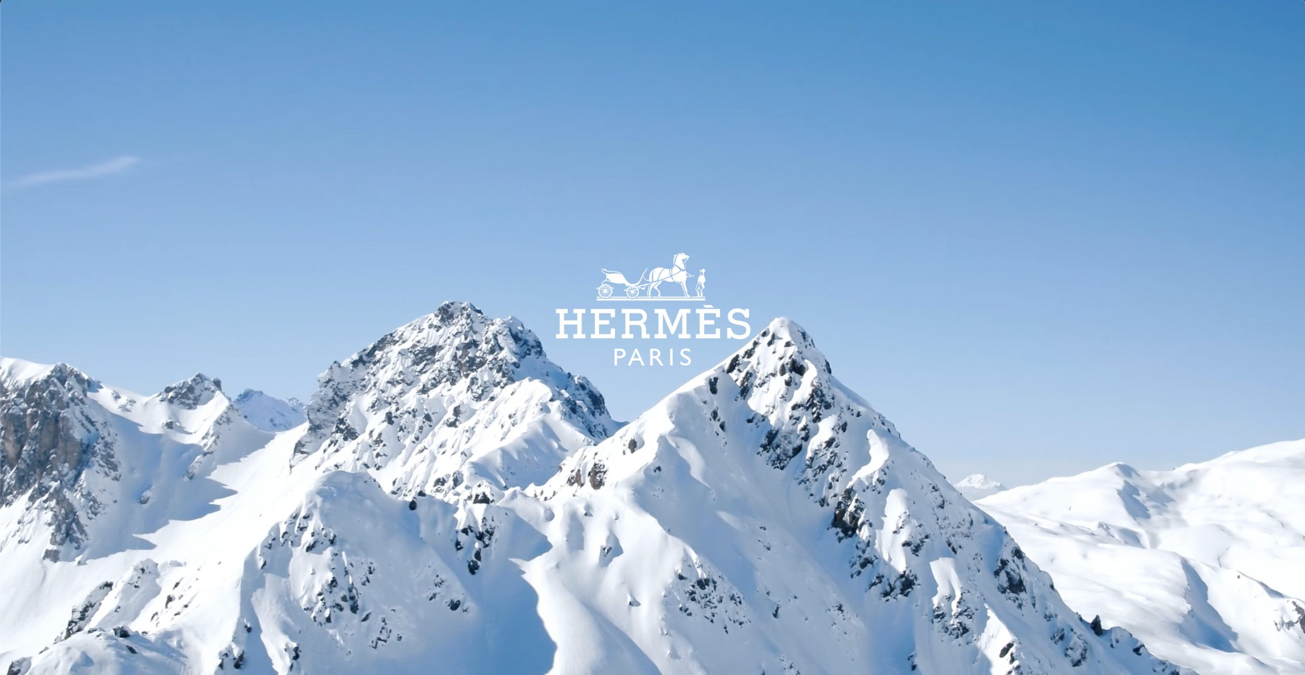 Hermès Ski Holiday 2019 Ad Campaign Film and Photos