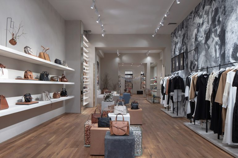 Loewe Opens New Store in SOHO on Greene Street