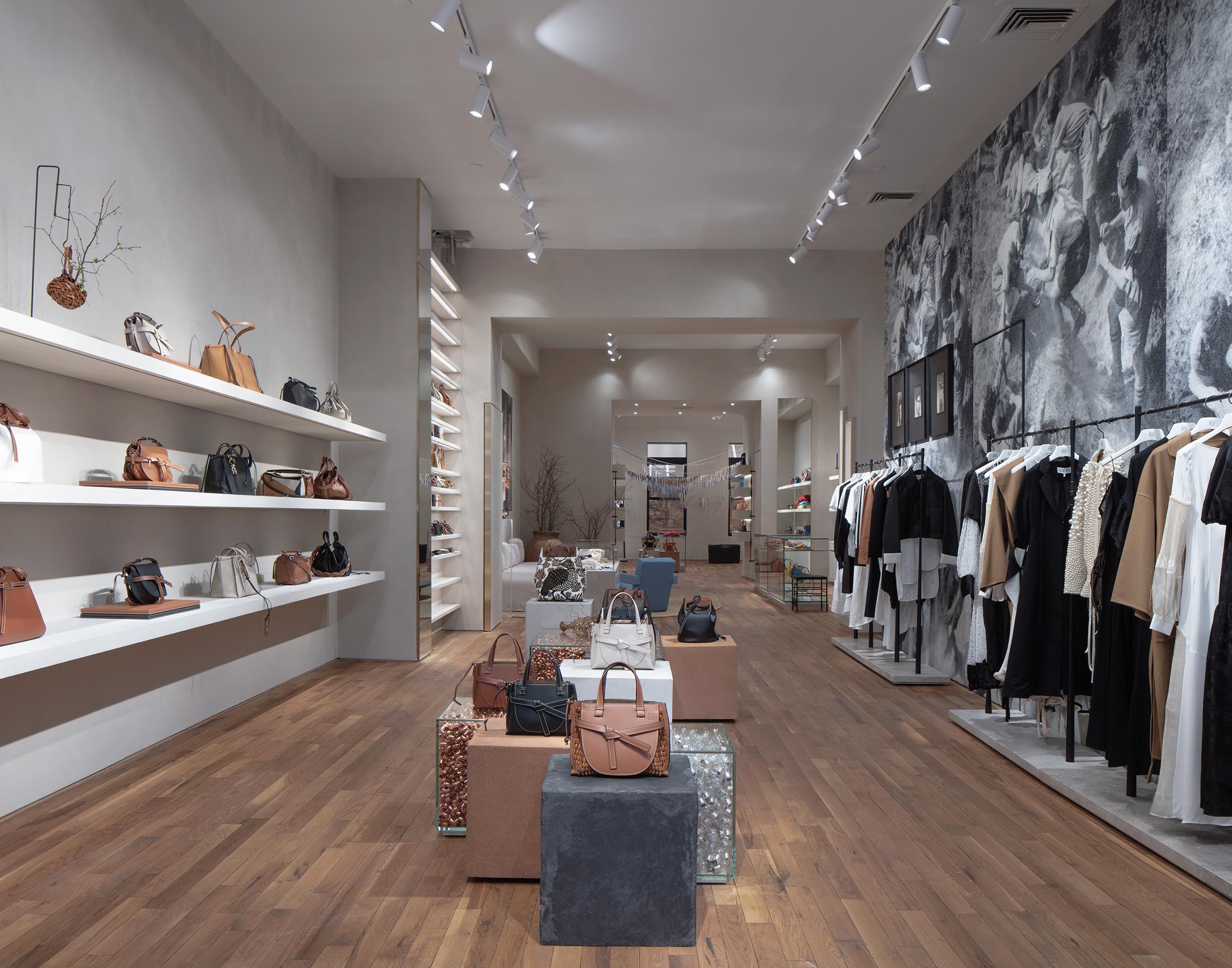 Loewe Opens New Store in SOHO on Greene Street Photos