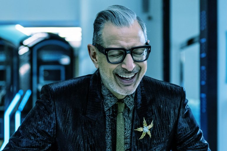 Jeff Goldblum Crashes Tiffany Pop-Up Shop in New York