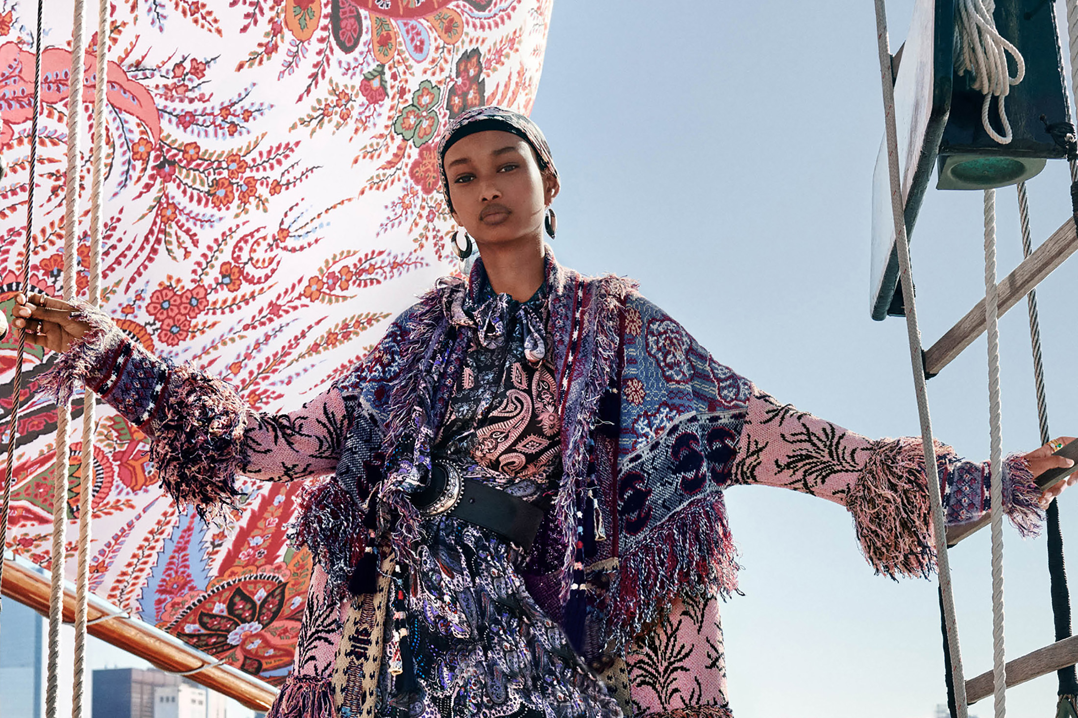 Etro Spring 2020 Fashion Ad Campaign Photos