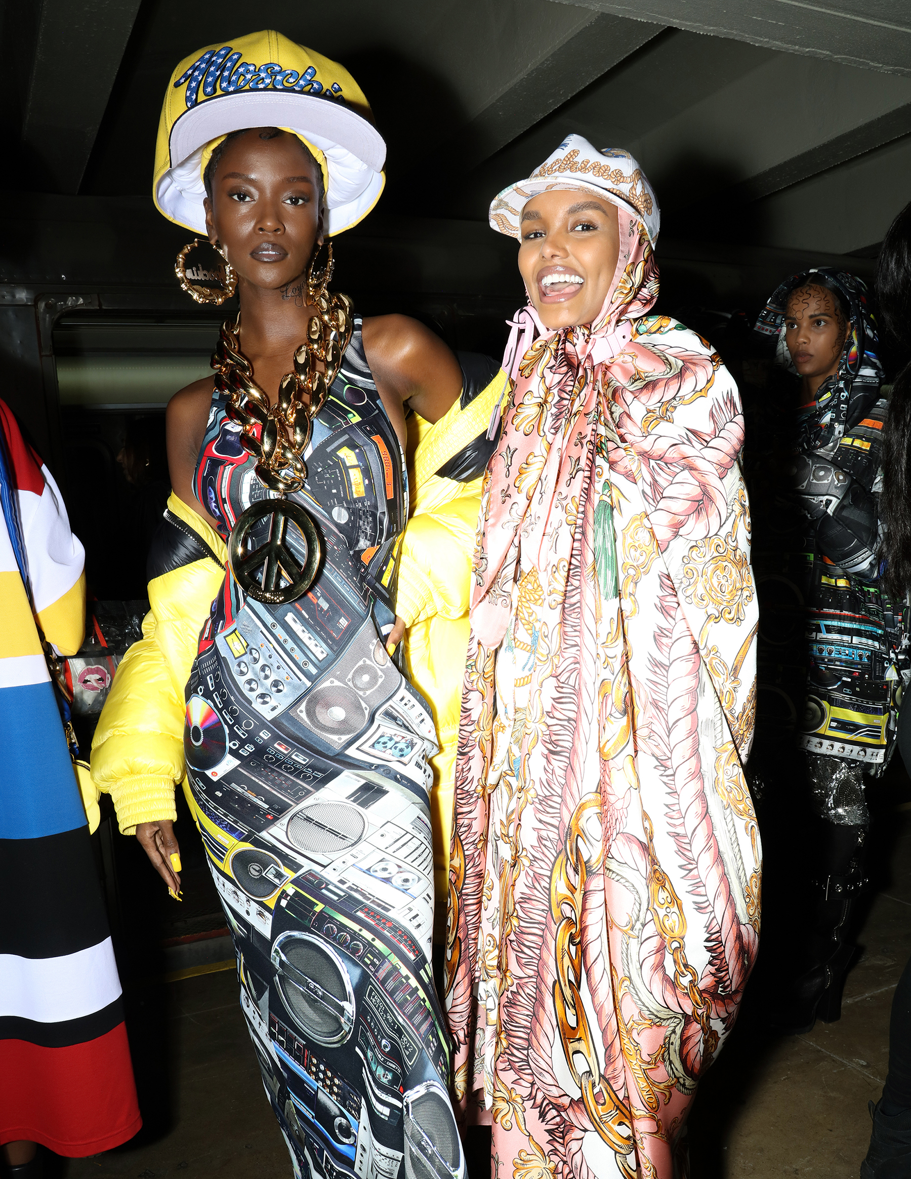 Moschino Pre-Fall 2020 Fashion Show Backstage Pictures