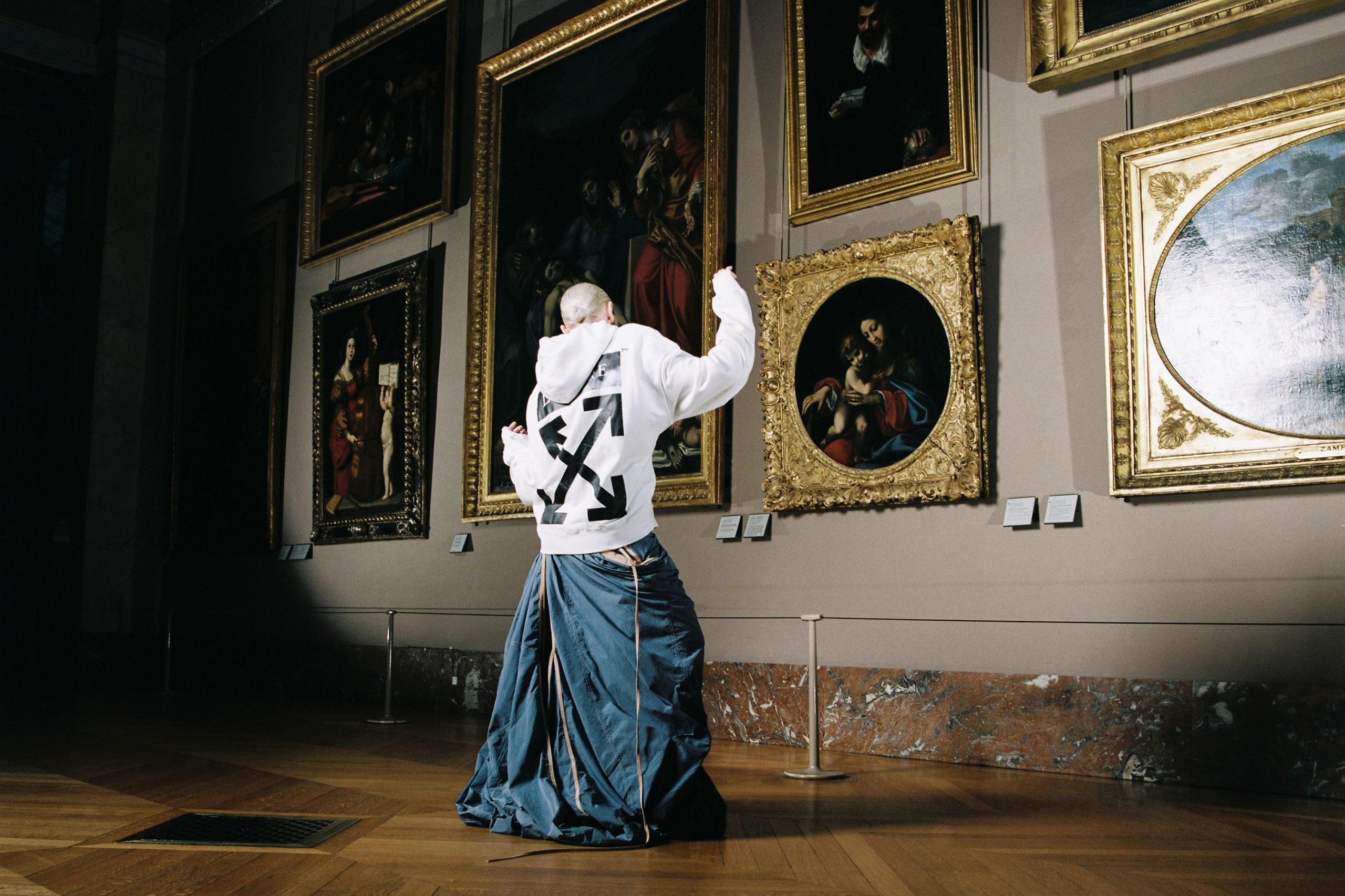 Off-White Virgil Abloh Collaborates with Louvre on Leonardo da Vinci Capsule Collection