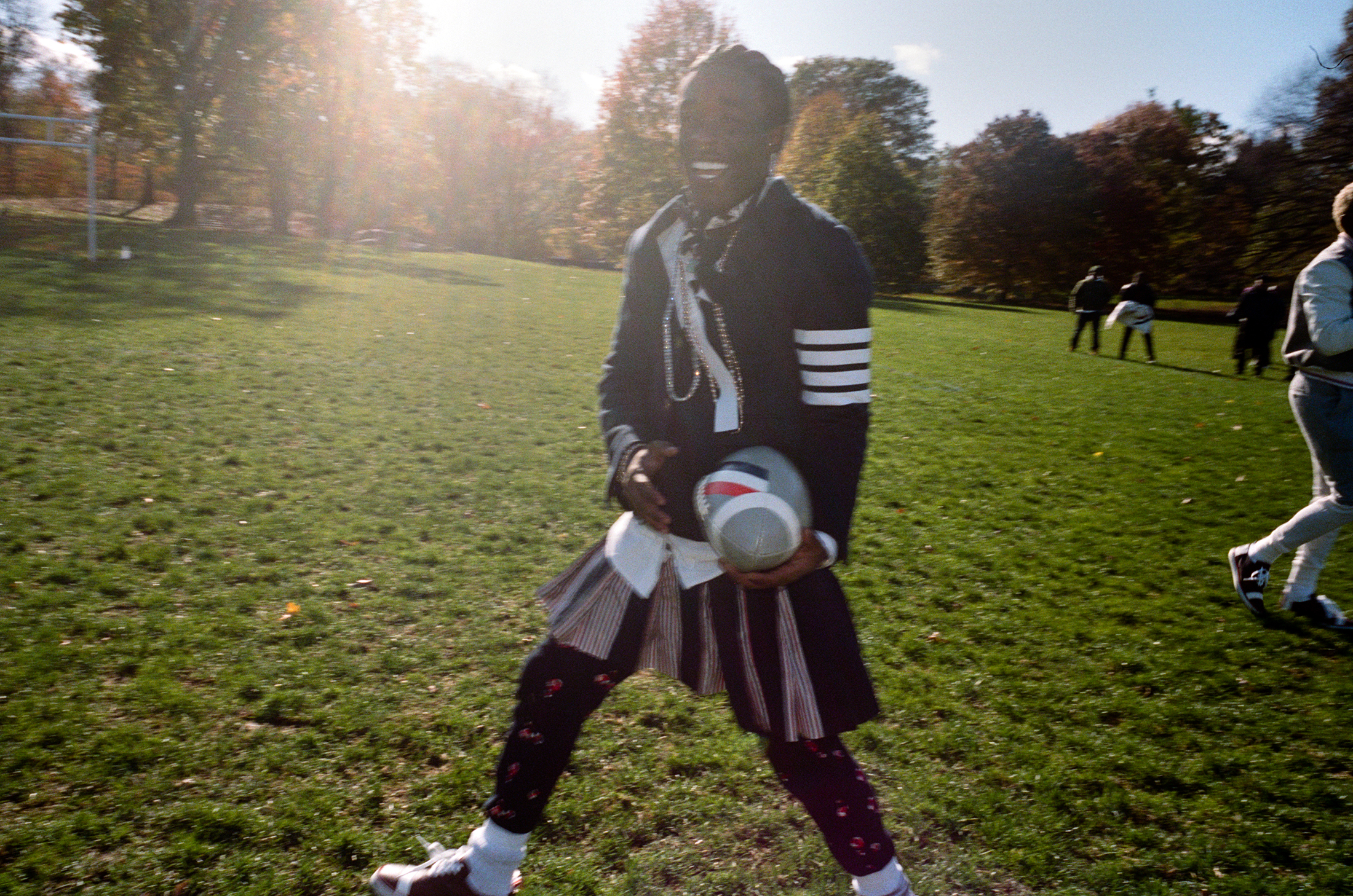 Thom Browne Football Game 2019 Pictures