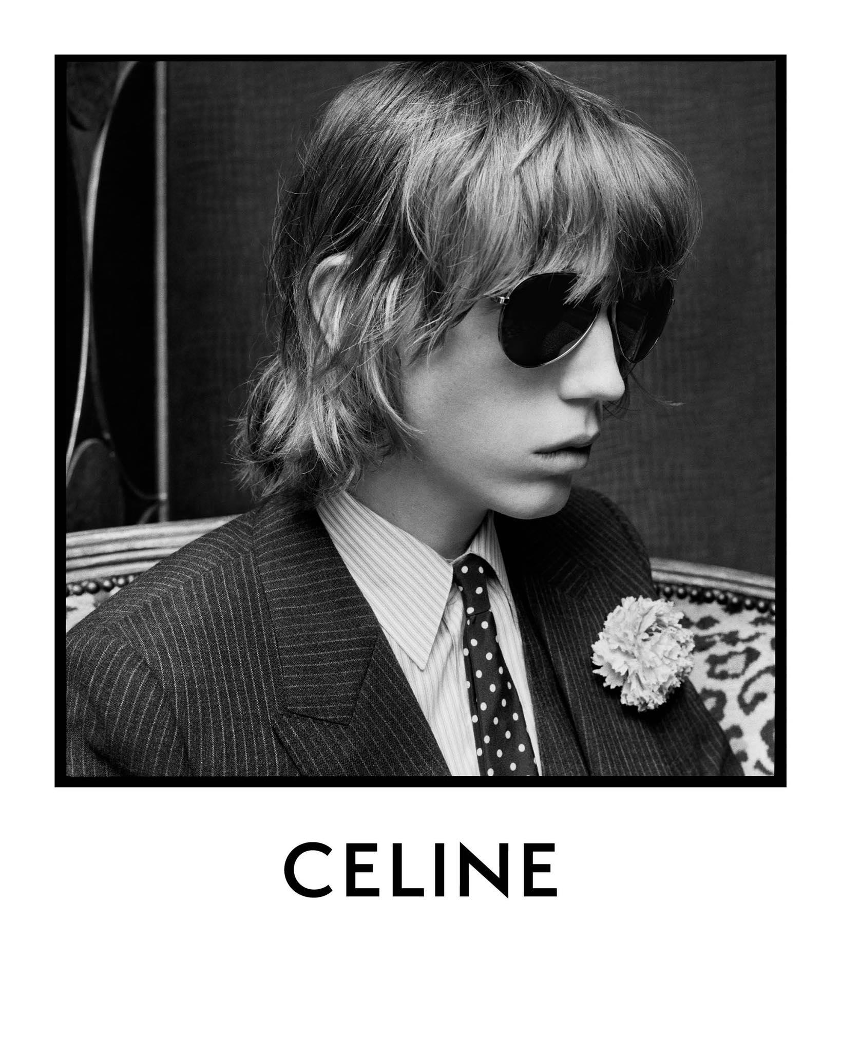 Celine Spring 2020 Men's Ad Campaign Photos
