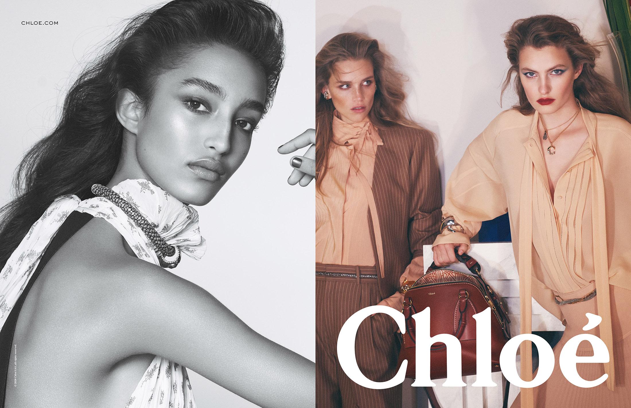 Chloé Spring 2020 Fashion Ad Campaign Photos