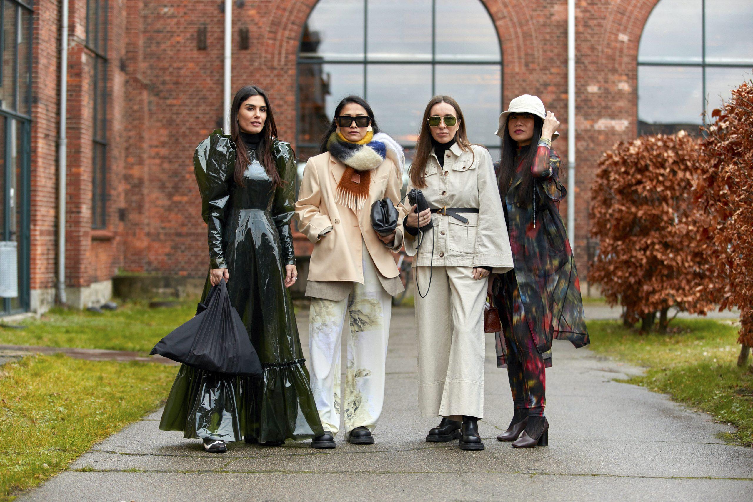 Copenhagen Women's Street Style Fall 2020 Photos