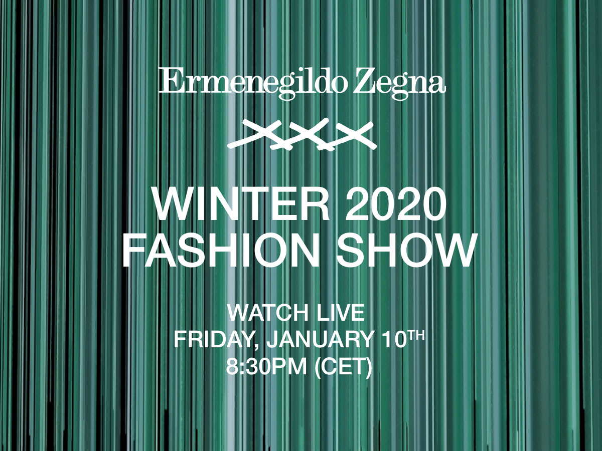 Ermenegildo Zegna Fall 2020 Men's Fashion Show Video