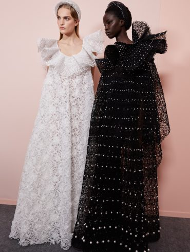 Givenchy Spring 2020 Couture Fashion Show Backstage Photos