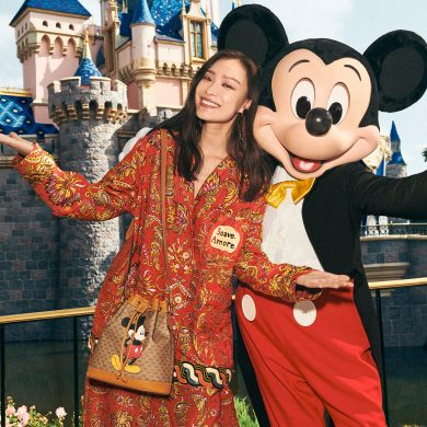 Gucci Mickey Mouse Collection Chinese New Year Photos