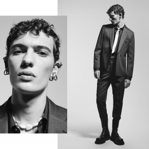 Men's Fashion Editorial Photos by Andre Kattelmann and Graziano Di Cintio