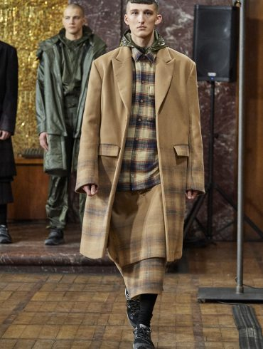 Rolf Ekroth Fall 2020 Men's Fashion Show Photos