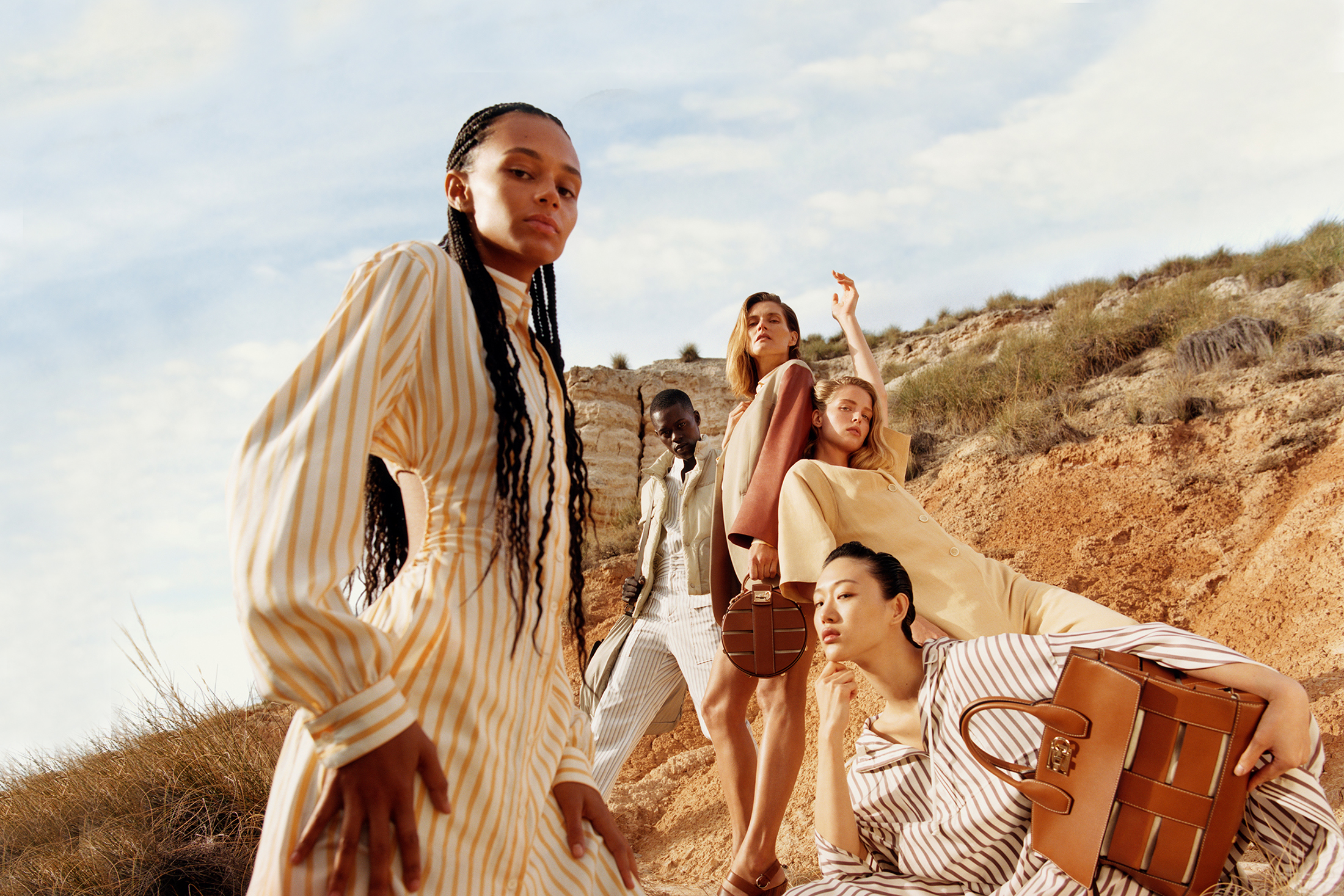 Salvatore Ferragamo Spring 2020 Fashion Ad Campaign Photos
